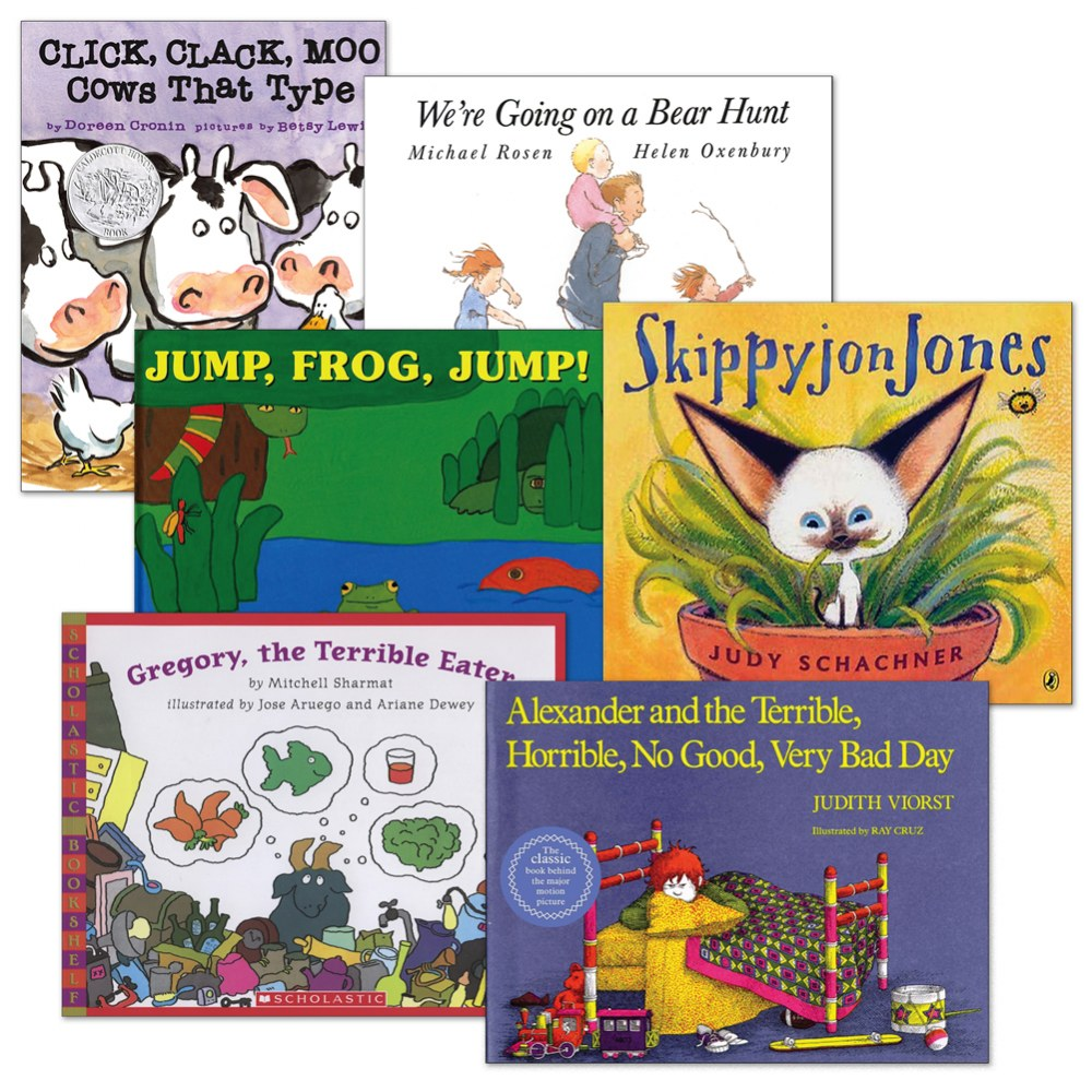Great Read-Aloud Books - Set of 6