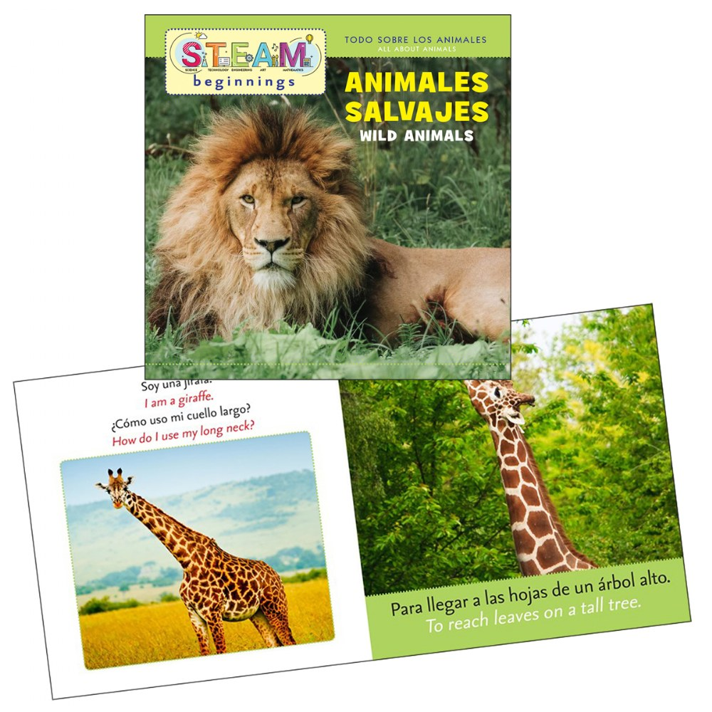 Alternate Image #3 of All About Animals Board Books - Bilingual Book Set