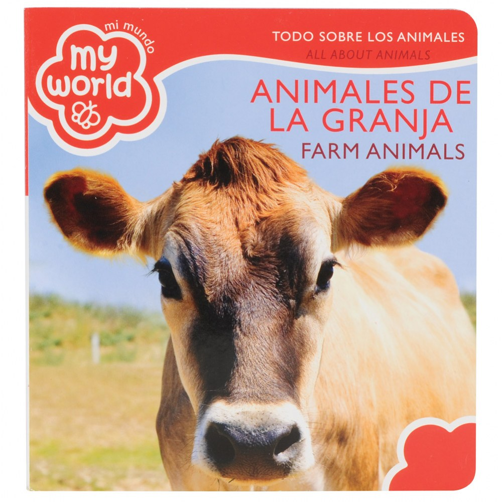 Alternate Image #2 of Bilingual - All About Animals Boardbook