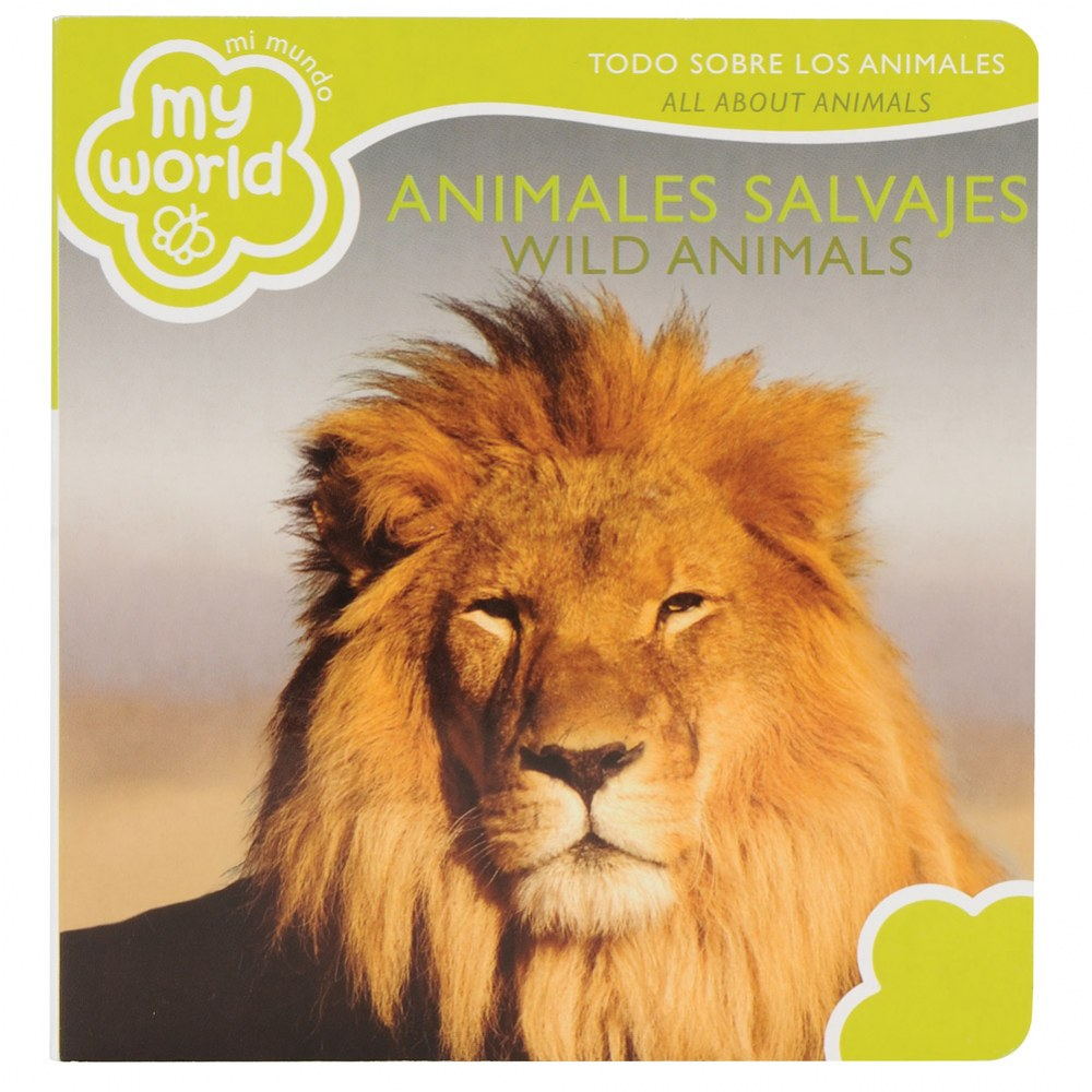 Alternate Image #3 of Bilingual - All About Animals Boardbook