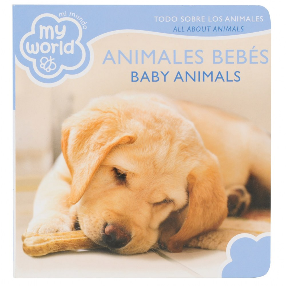 Alternate Image #4 of Bilingual - All About Animals Boardbook