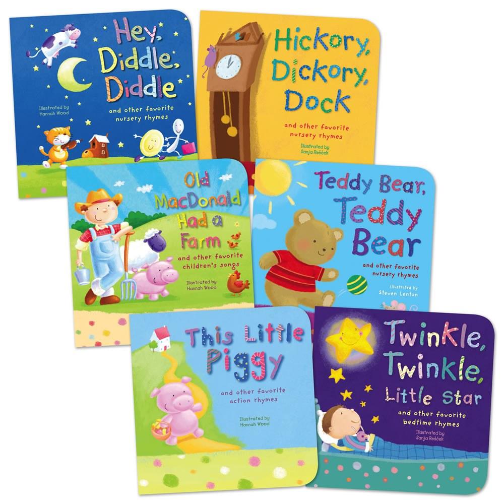 Favorite Nursery Rhymes and Children's Songs Board Books ...