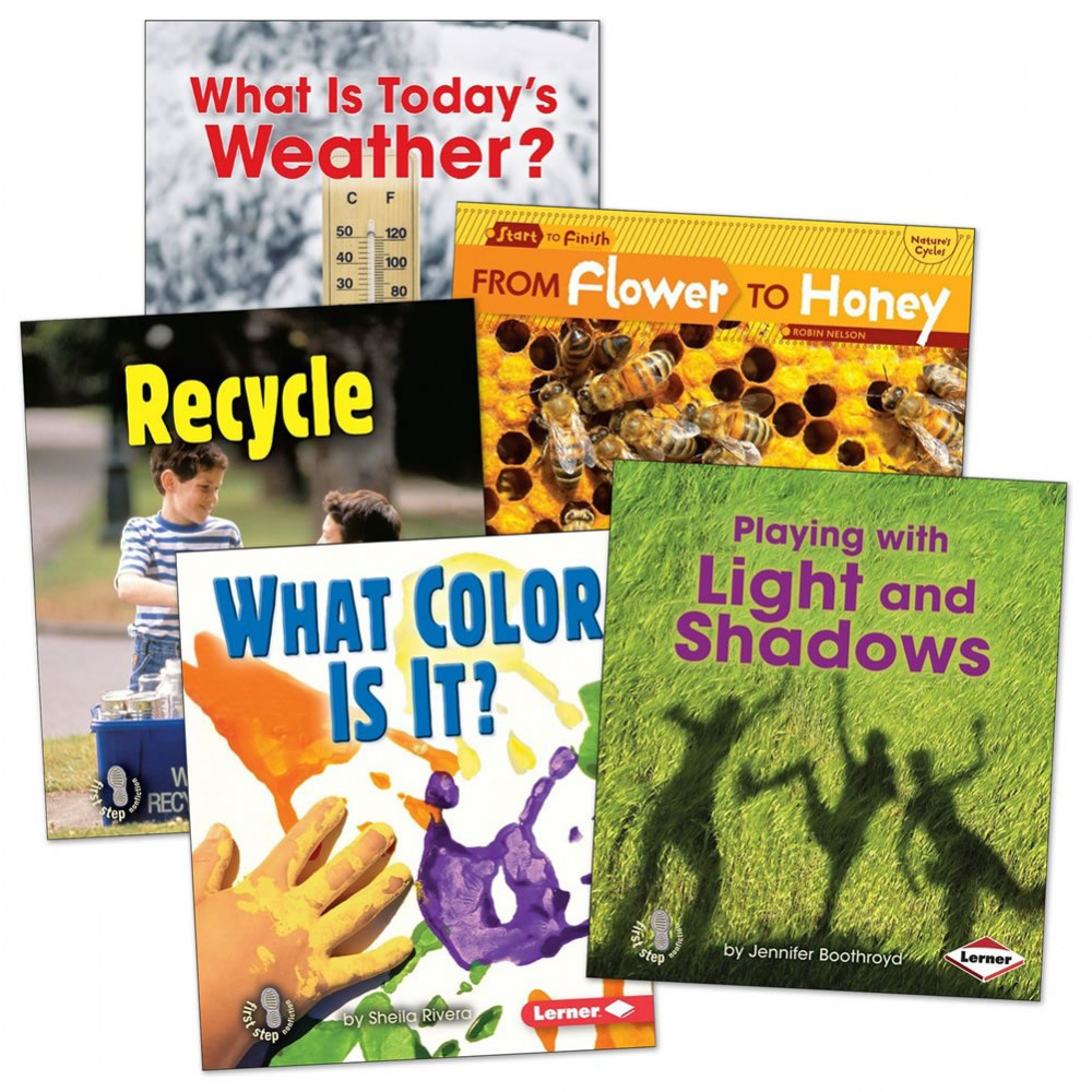 Learn with Me -Science Books - Set of 5