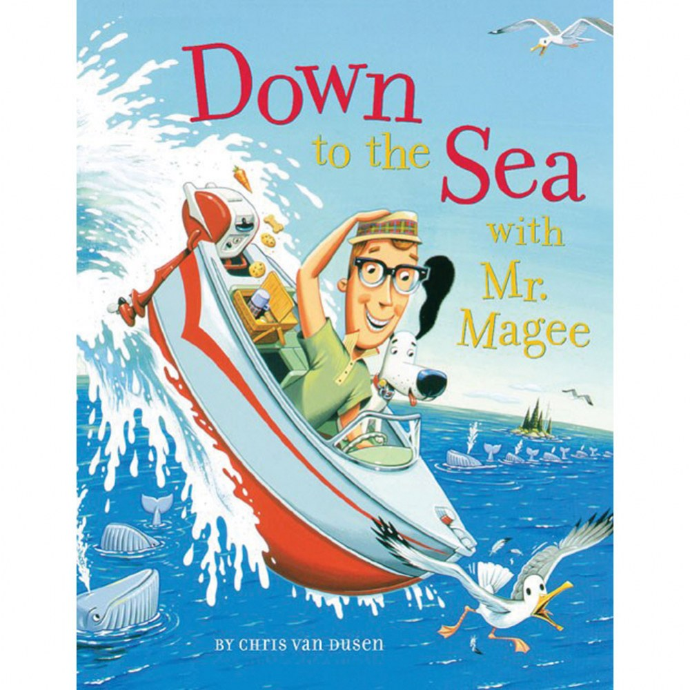 Down to the Sea with Mr. Magee - Paperback