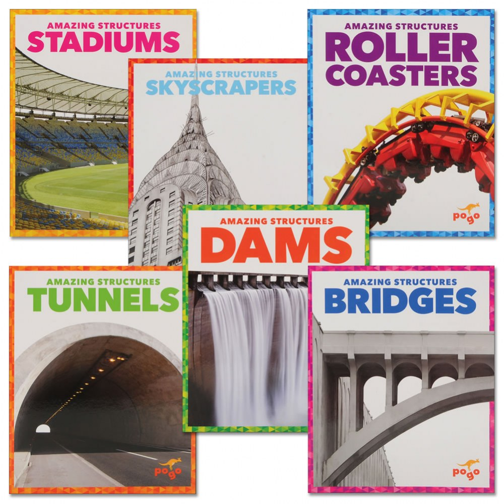 Amazing Structures Book Set - Set of 6