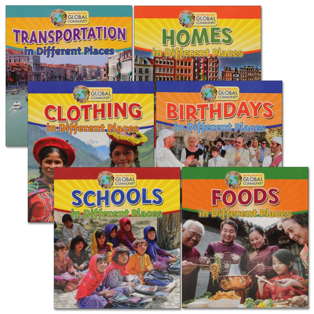 Our Global Community Books - Set of 6