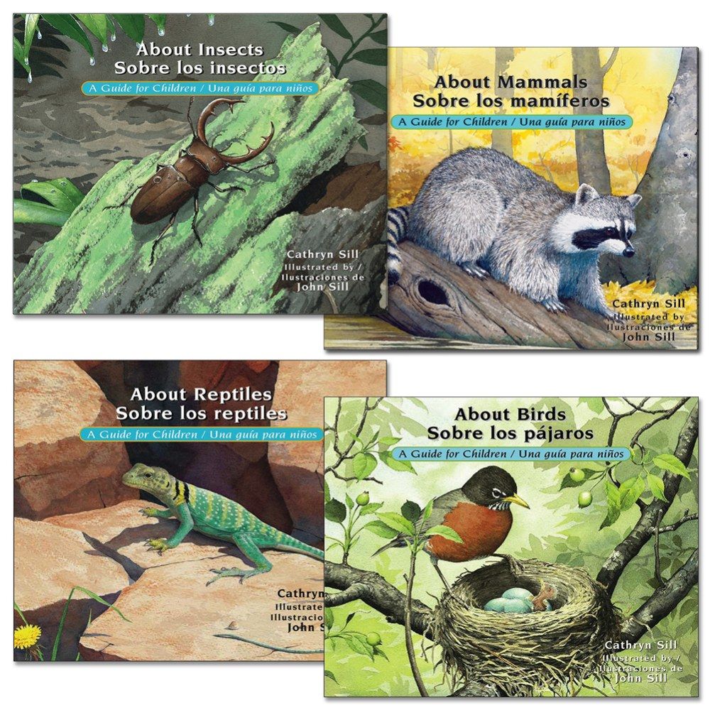 Bilingual Science Books - Set of 4