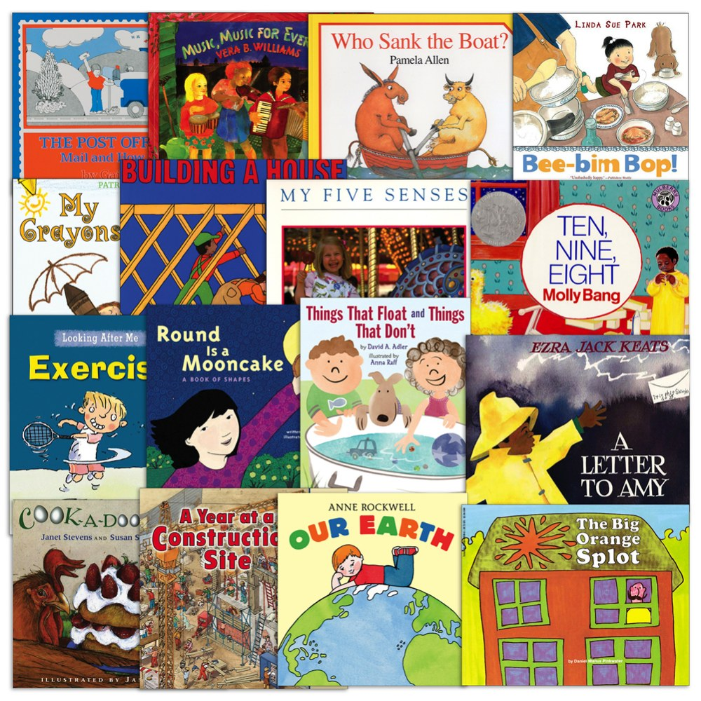 Learning Center Books - Set of 16