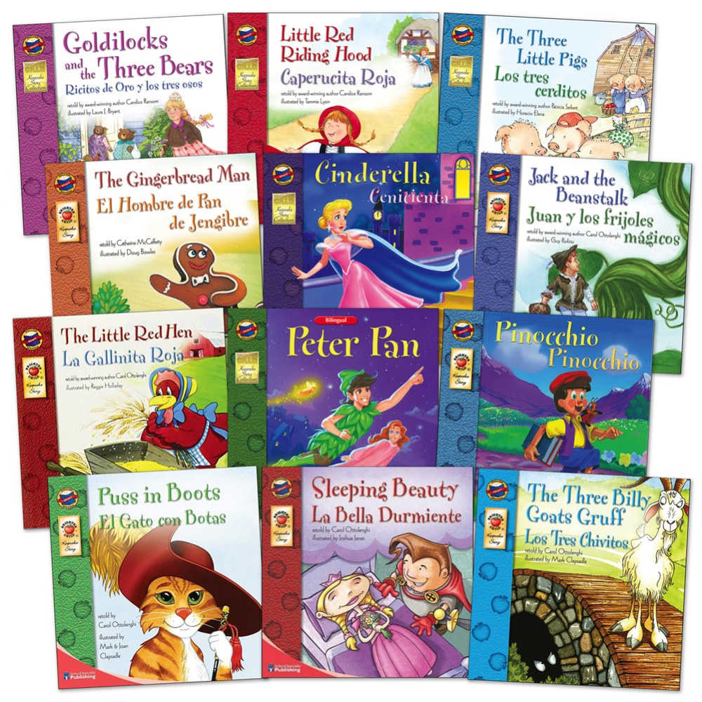 Classic Tales Bilingual Books - Set of 12