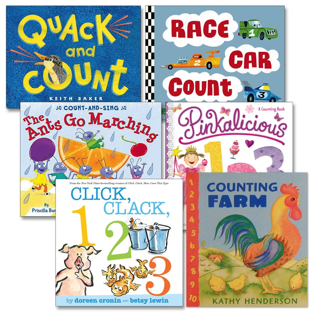 Counting is Fun Board Books - Set of 6