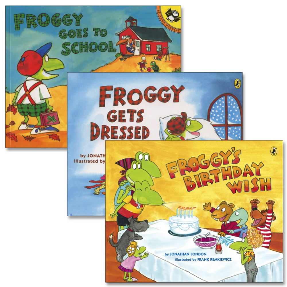 Froggy Adventure Books - Set of 3