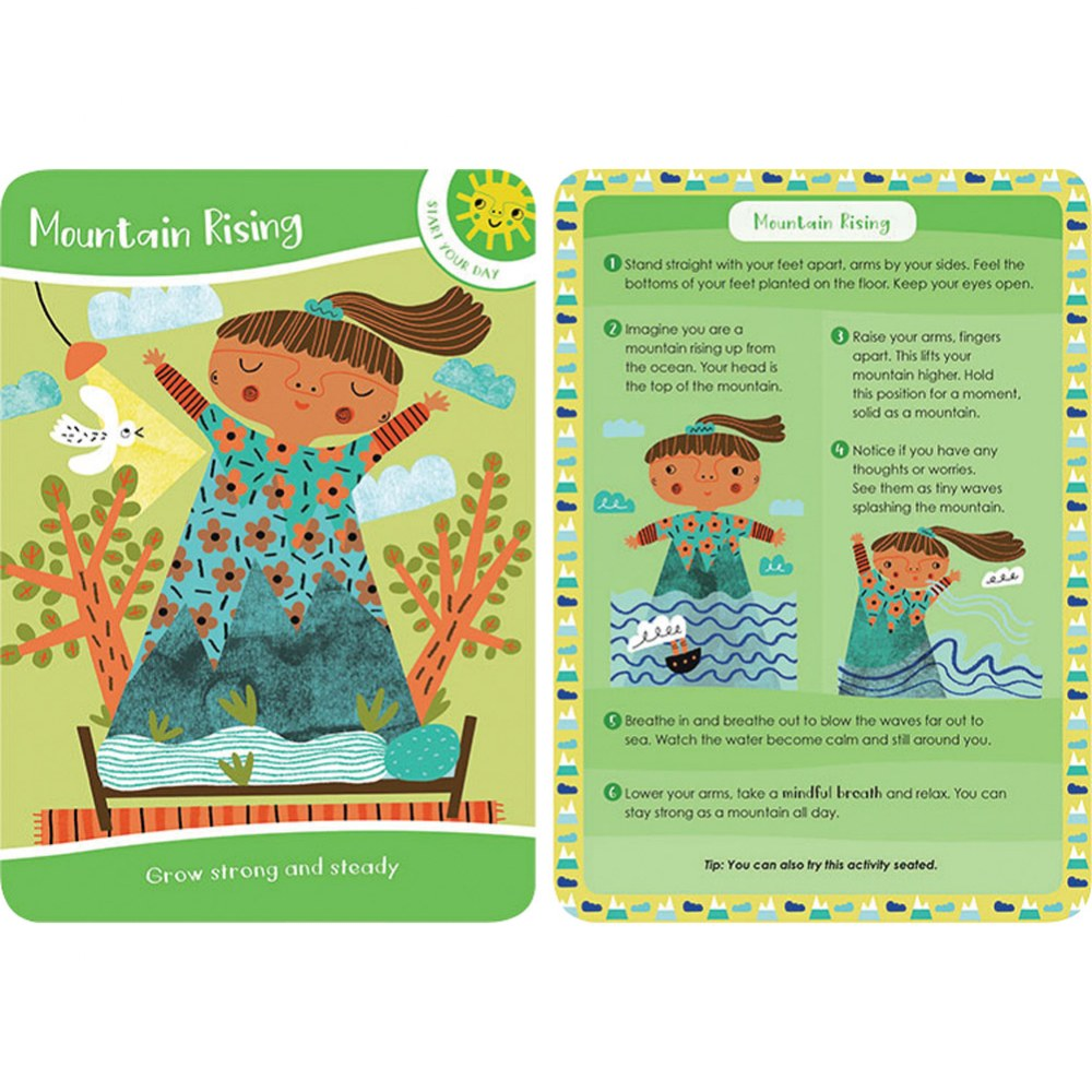 Alternate Image #2 of Mindful Kids: 50 Activities for Calm, Focus and Peace - Card Deck