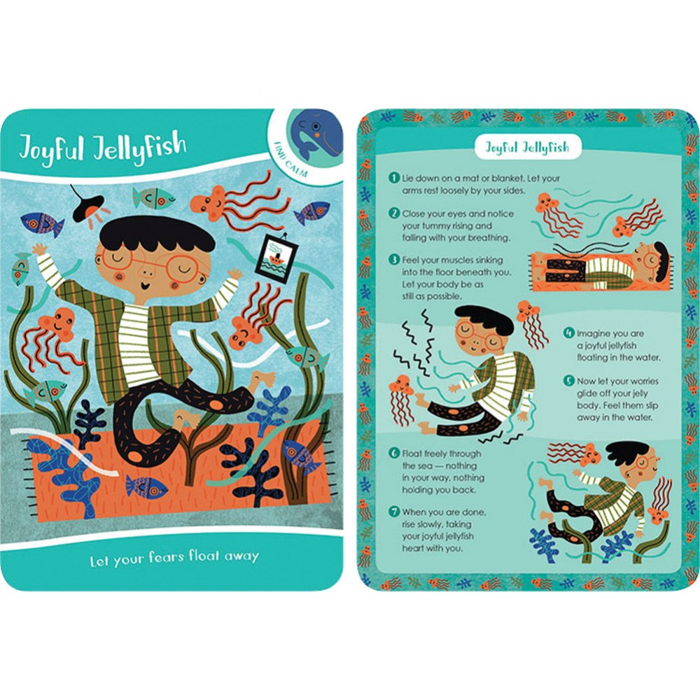 Alternate Image #4 of Mindful Kids: 50 Activities for Calm, Focus and Peace - Card Deck