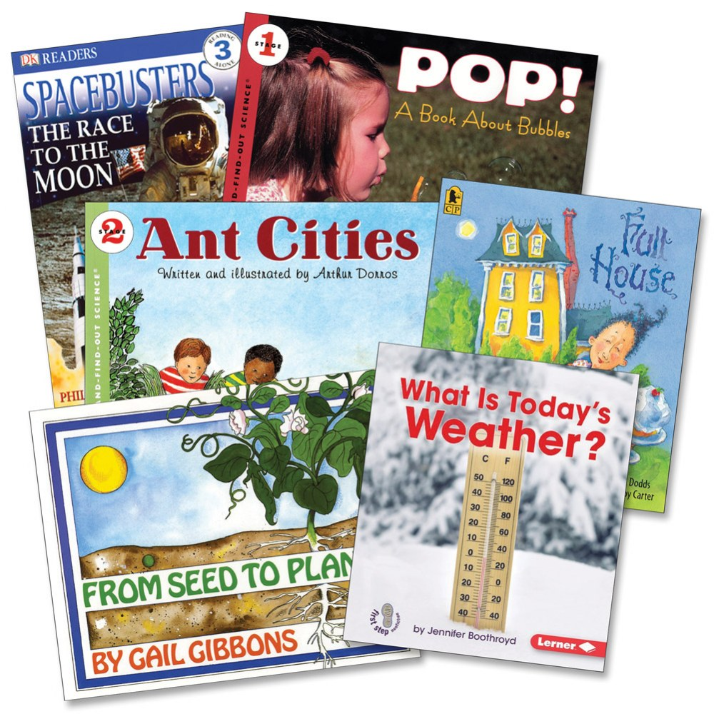 STEM Books for Grades 1 and 2 - Set of 6