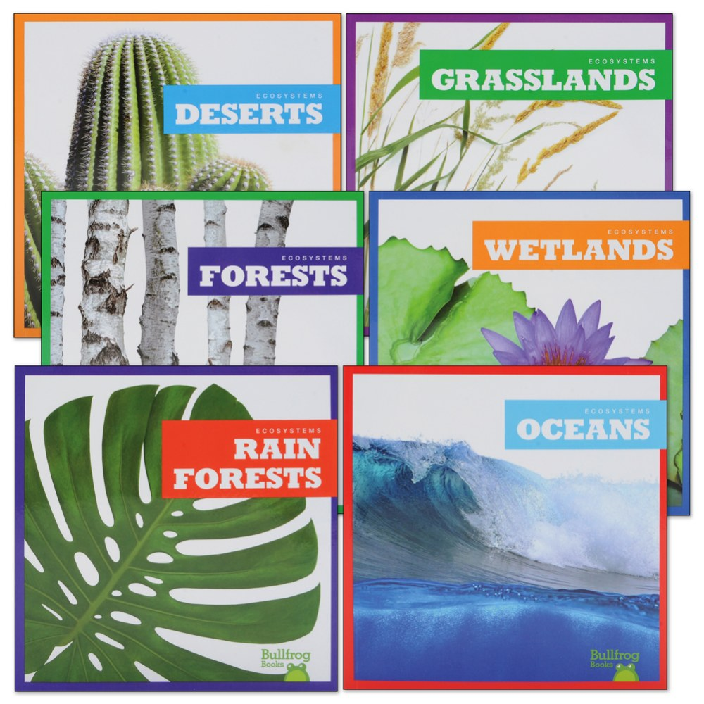 Ecosystems--Amazing Places Book Set - Set of 6