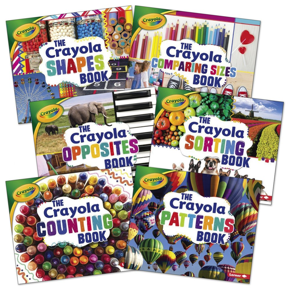 Crayola® Concept Math Books - Set of 6