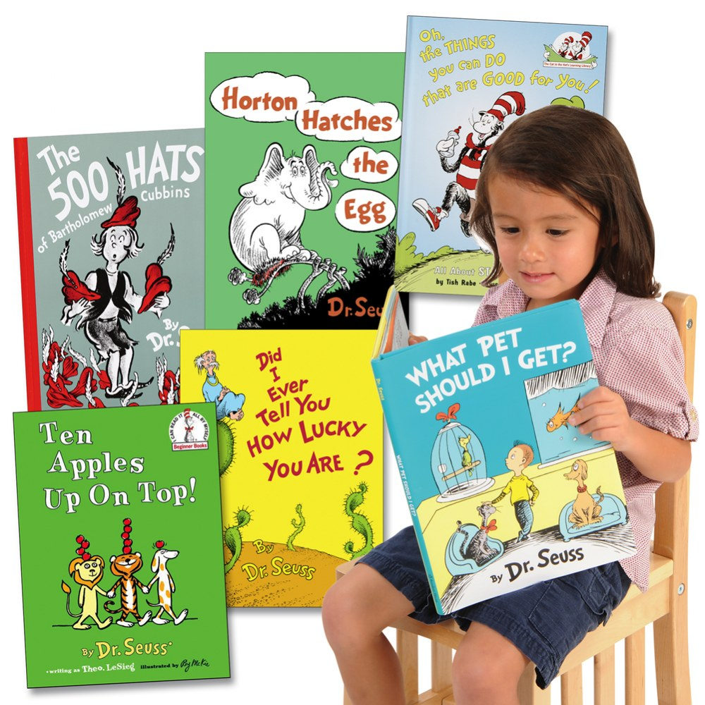 Dr. Seuss Book Collection - Set of 6
