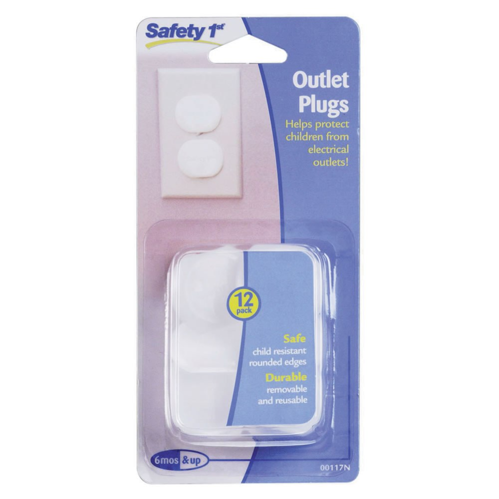 Ultra Clear Outlet Plugs (Set of 12)