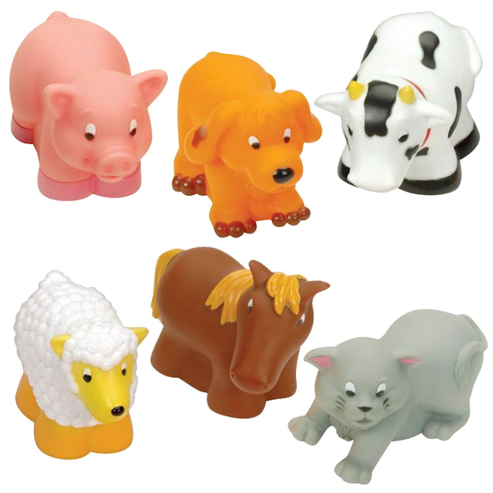 Alternate Image #3 of My Animal and Ocean Soft Squeezable Buddies - Set of 17