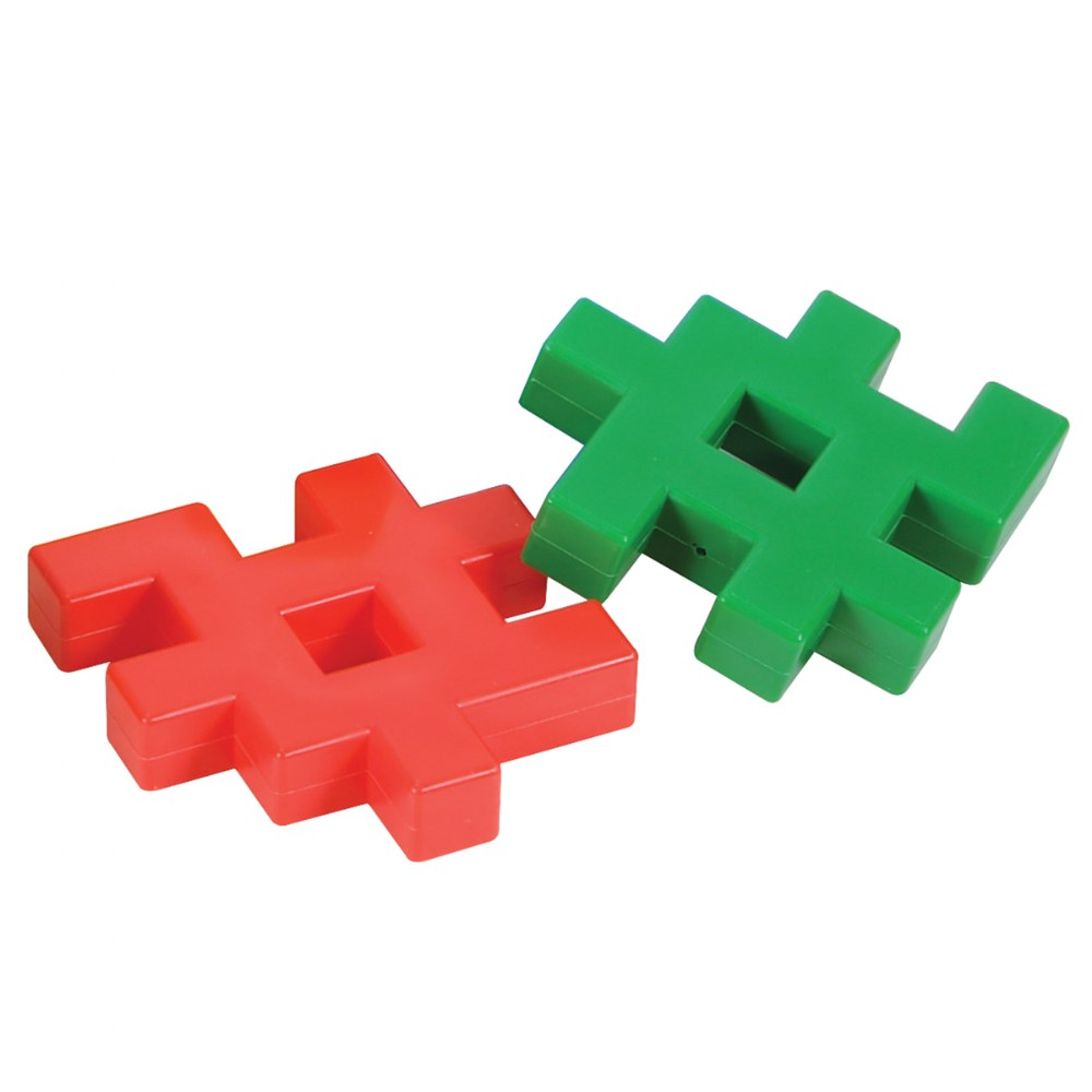 Alternate Image #2 of Click Blocks Unique Manipulative Set - 24 Pieces