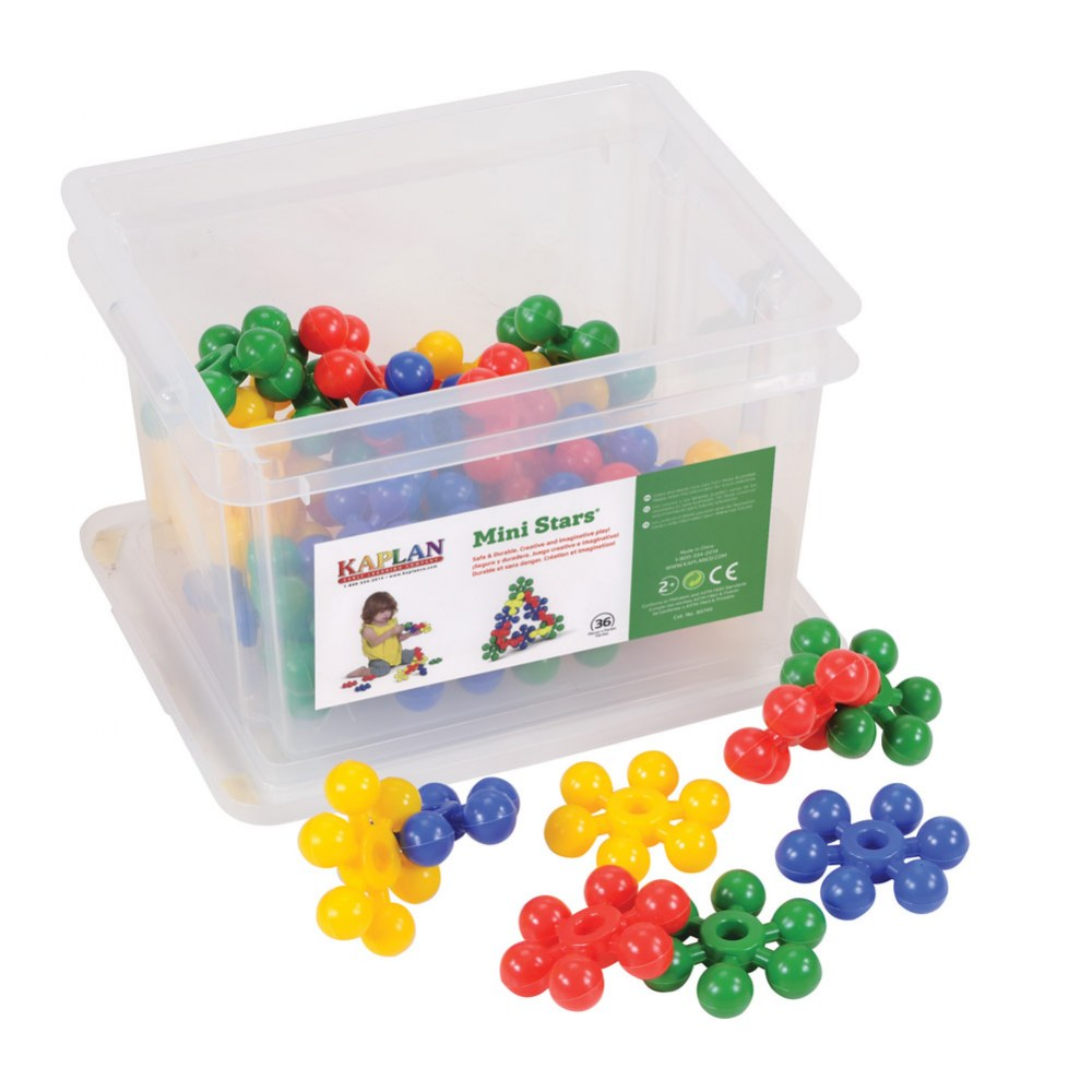 Mini Stars Manipulative Set - 36 Pieces