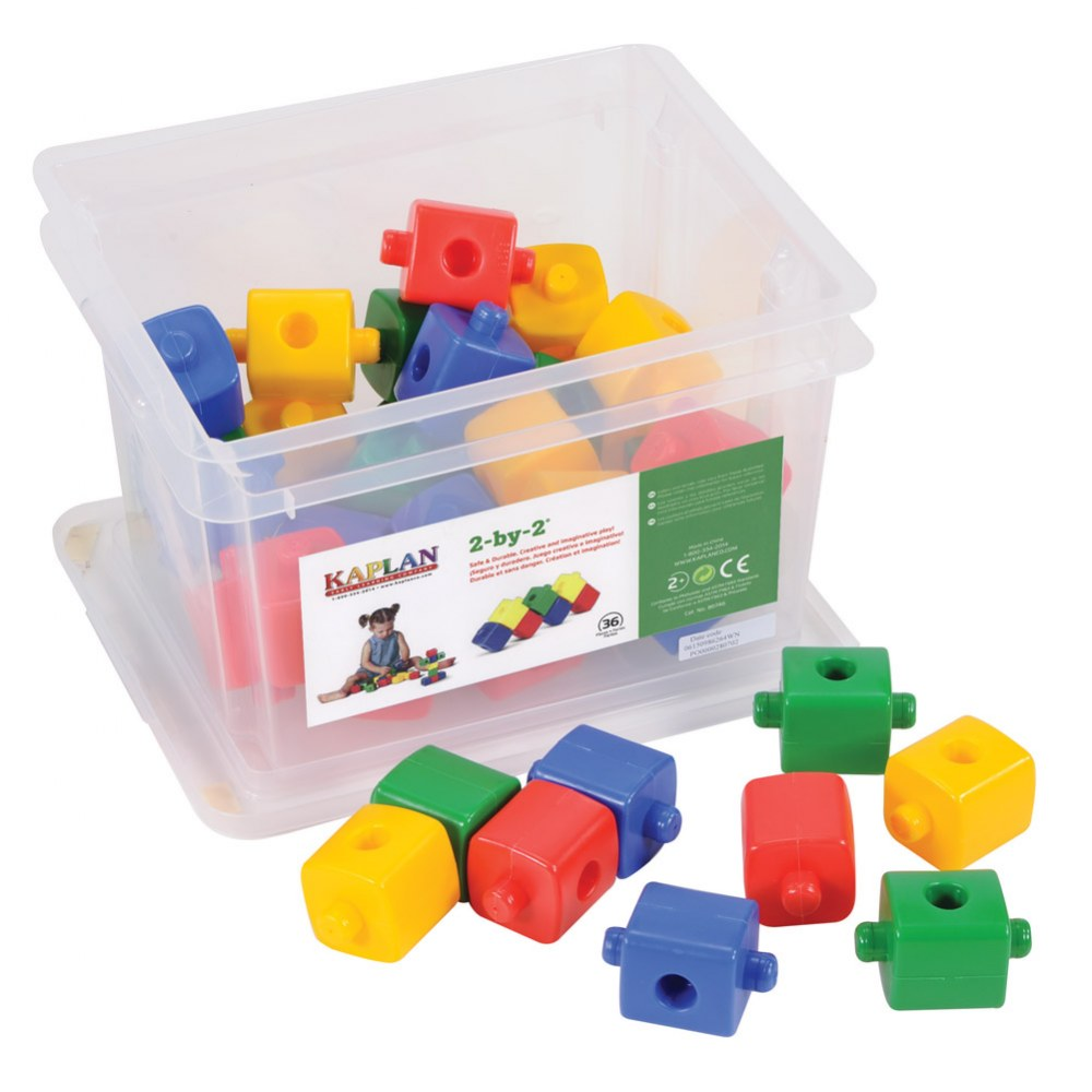 2-by-2 Manipulative Set - 36 Pieces