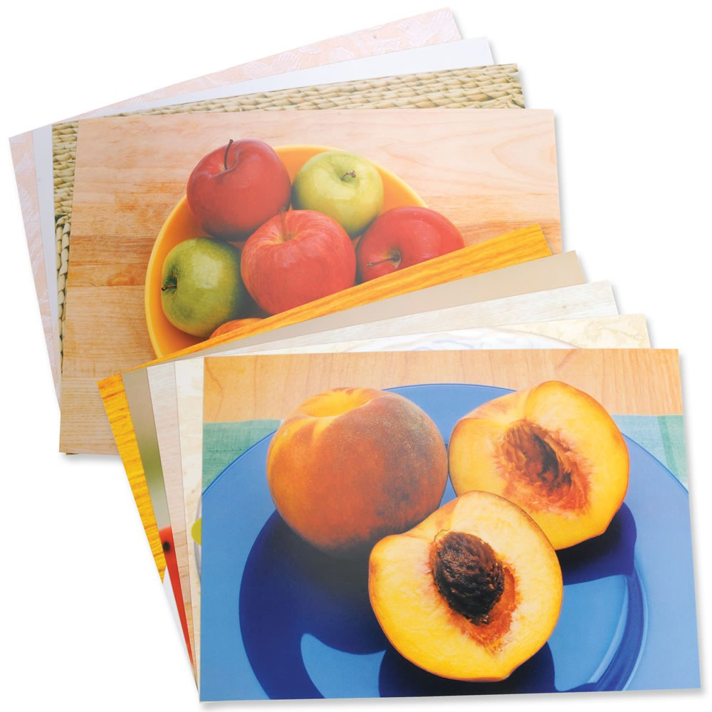 Fruits & Vegetables Posters (Set of 14)