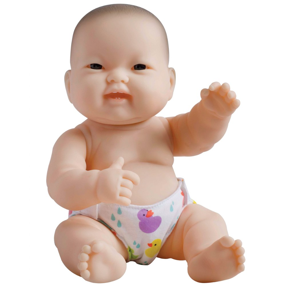 "Alternate Image #2 of 14"" Lots to Love Babies with Different Skin Tones and Poseable Bodies - Set of 4"