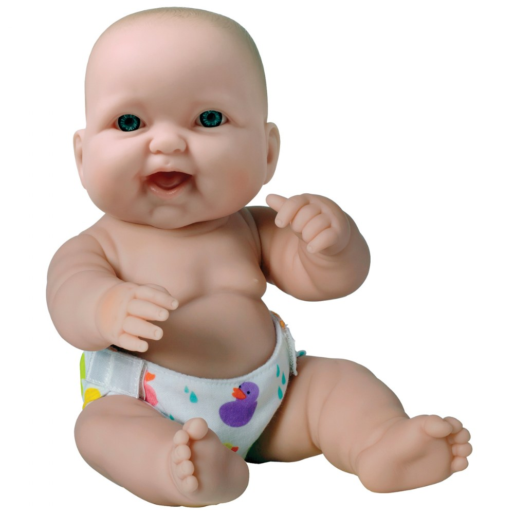 "Alternate Image #3 of 14"" Lots to Love Babies with Different Skin Tones and Poseable Bodies - Set of 4"