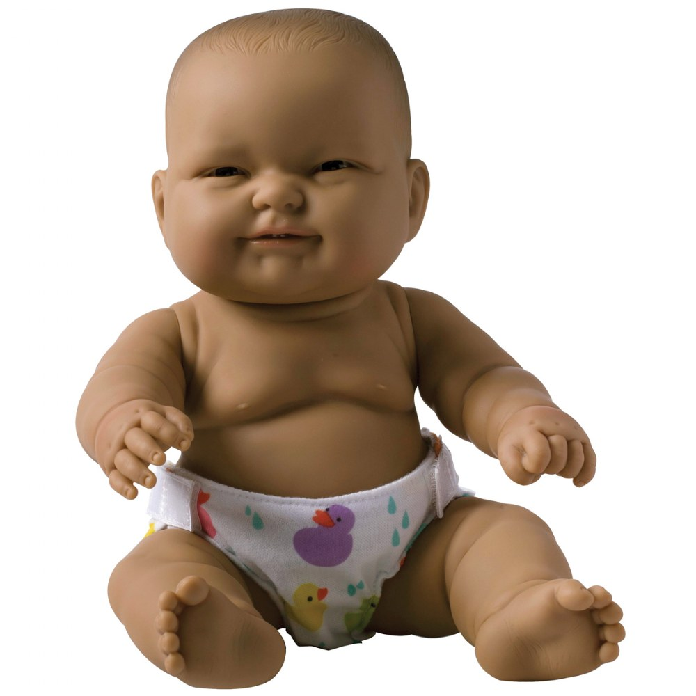 "Alternate Image #4 of 14"" Lots to Love Babies with Different Skin Tones and Poseable Bodies - Set of 4"