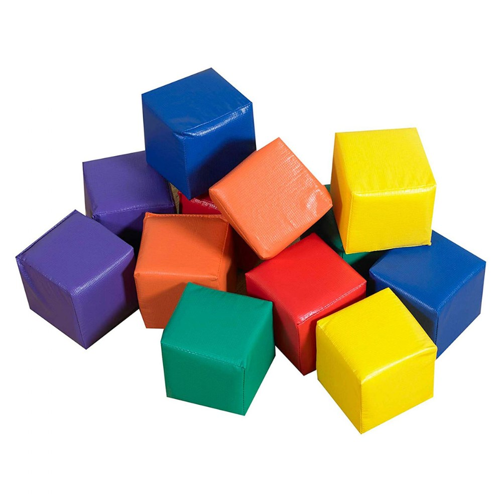 Alternate Image #1 of Primary Toddler Blocks - Set of 12