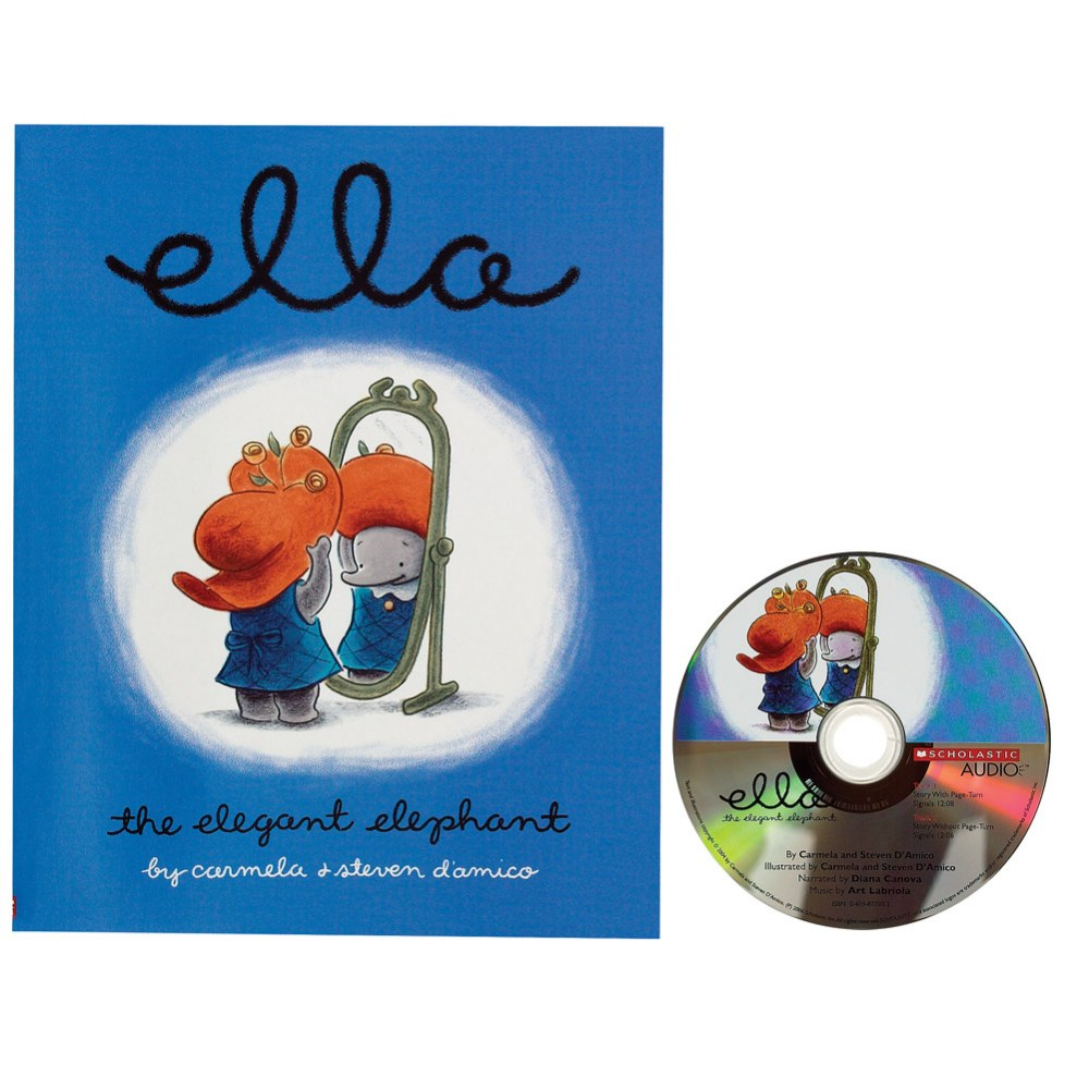 Ella the Elephant Book and CD