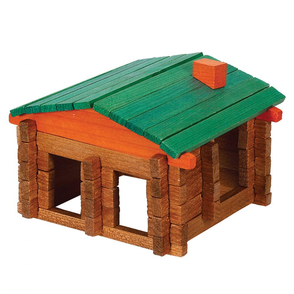 Alternate Image #1 of Deluxe Log Building Set