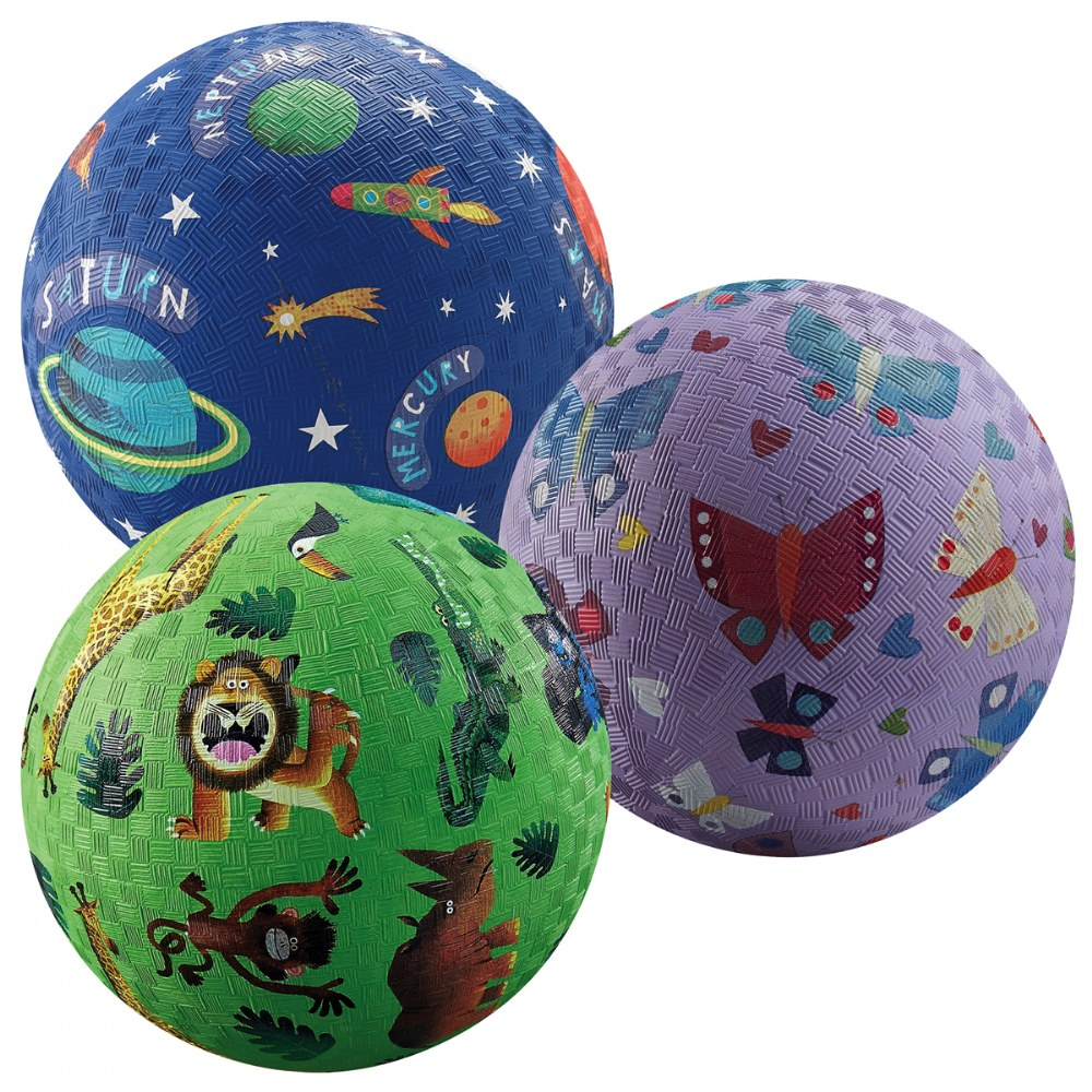 Alternate Image #1 of Playground Balls - Set of 7