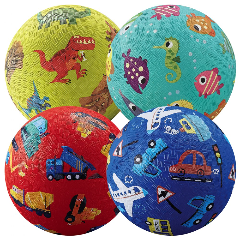 Alternate Image #2 of Playground Balls - Set of 7