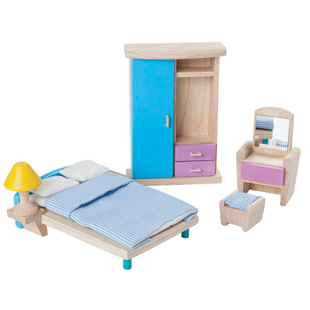 Dollhouse Neo Bedroom Furniture Group - 7 Piece Set