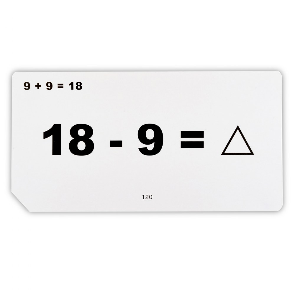 Alternate Image #2 of Addition and Subtraction Unknown Quantities Flashcards