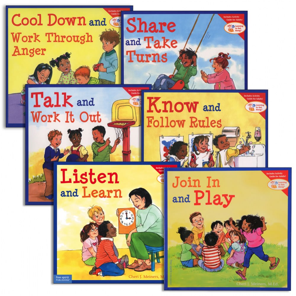 Learning to Get Along® Paperback Books - Second Set - Set of 6