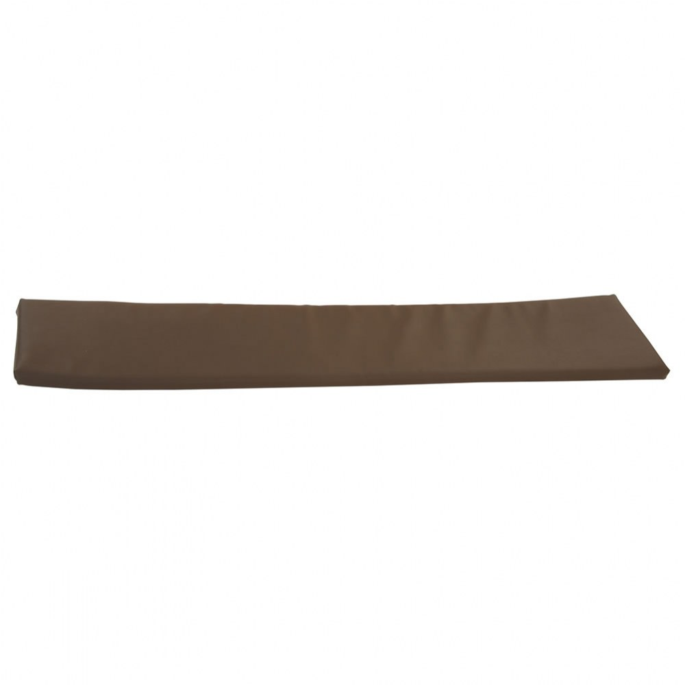 Brown Seat Cushion for 4-Section Bench Cubby