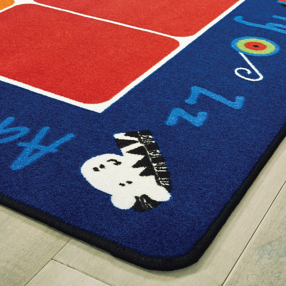 Alternate Image #2 of Fun With Phonics Seating Carpet