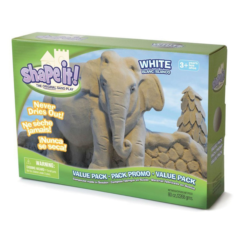 Alternate Image #4 of Shape it! Sand 20 lb. Bag - White