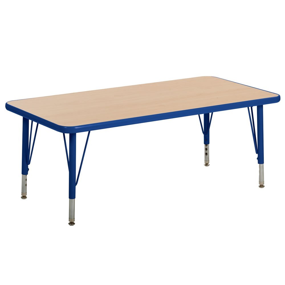 Nature Color 24x48 Rectangle Tables (Seats 6)