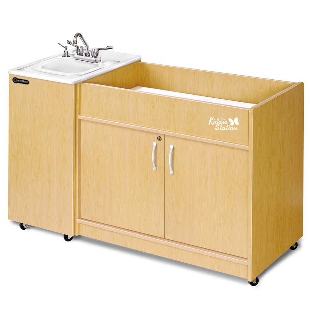 Kiddie Station - ABS Sink Top and Diaper Changing Station