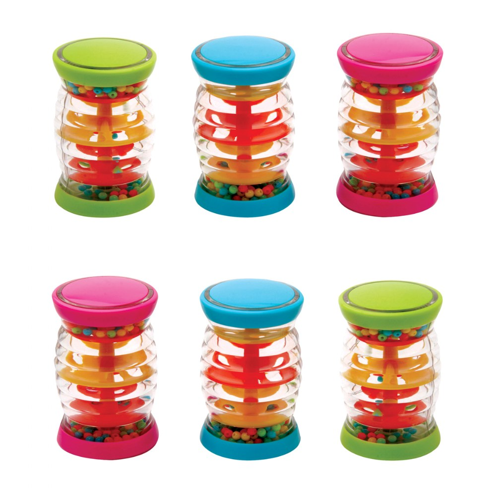 "Mini 4"" Rainboshakers - Set of 6"