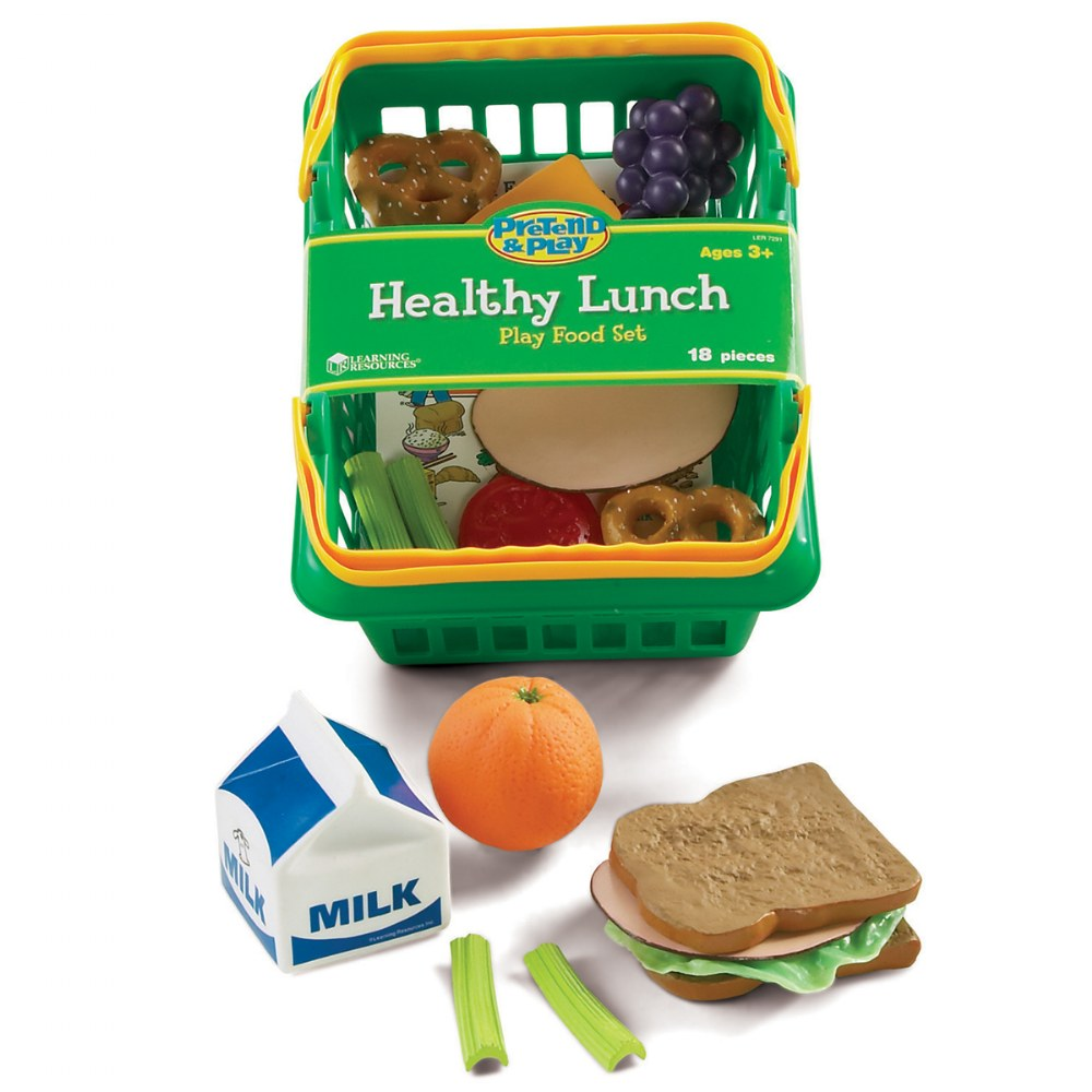 Alternate Image #3 of Healthy Choices Play Food Set