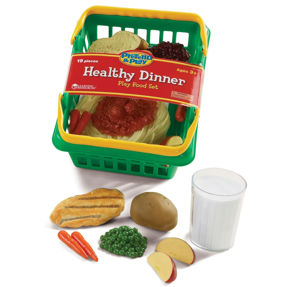Alternate Image #4 of Healthy Choices Play Food Set