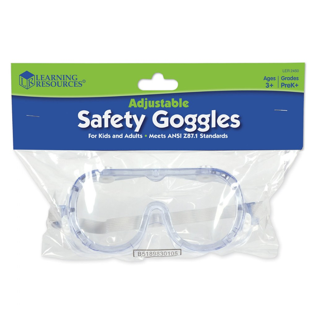 Alternate Image #9 of Clear Safety Goggles