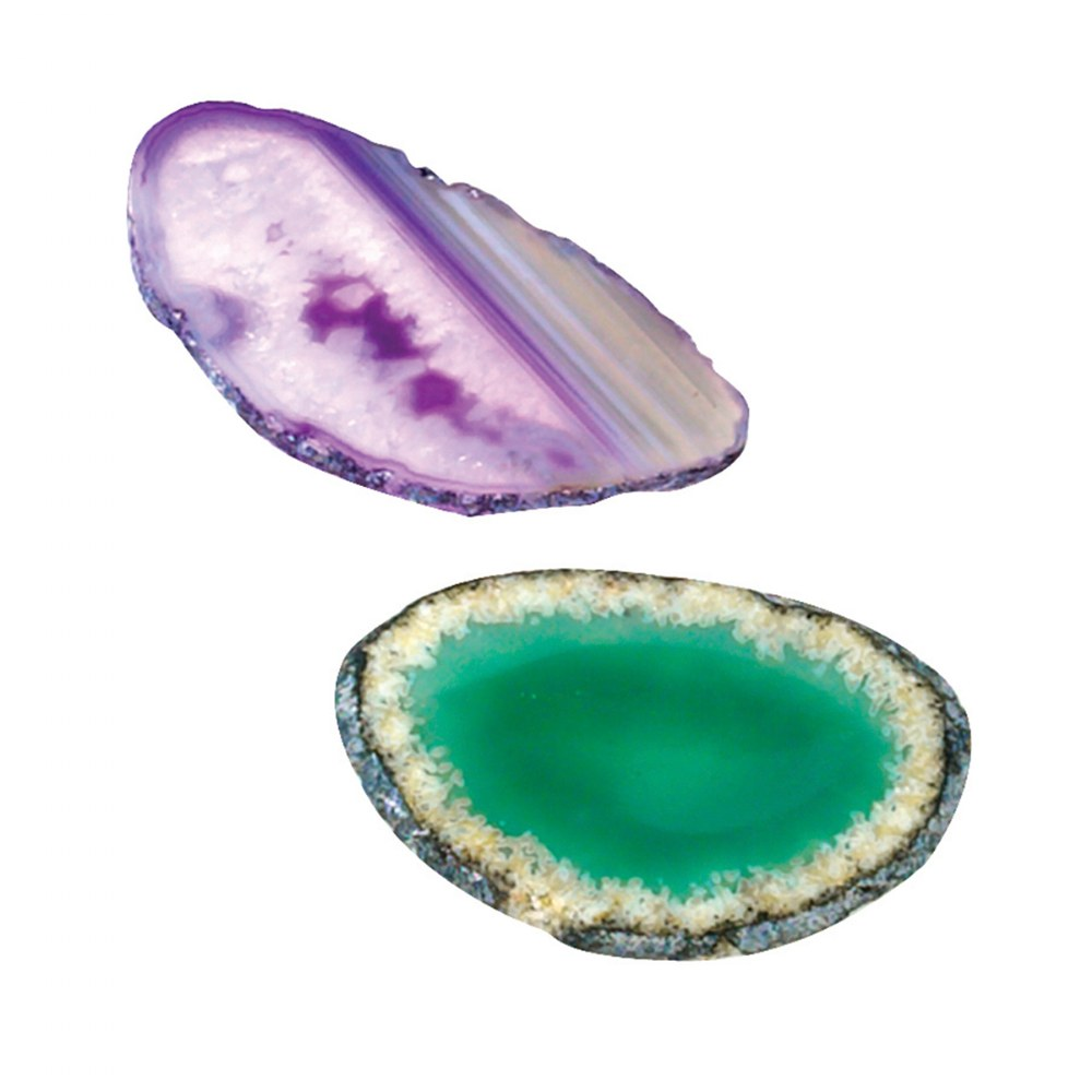 Alternate Image #2 of Agate Light Table Slices - Set of 12