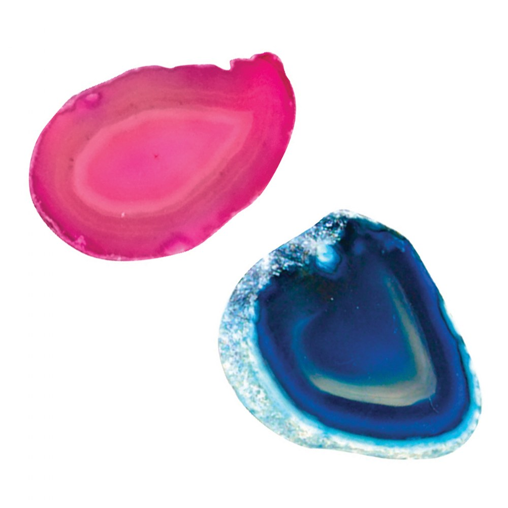 Alternate Image #3 of Agate Light Table Slices - Set of 12