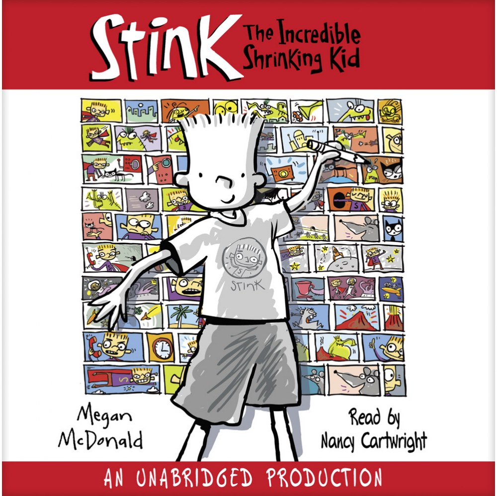 The Adventures of Stink Book Series